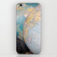 Globes iPhone & iPod Skin