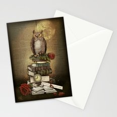 The Bibliophile - (the lover of books) Stationery Cards