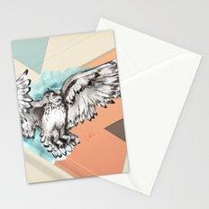 Owl McFly by carographic Stationery Cards