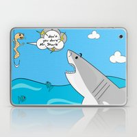 Mr. Shark Insurance Brok… Laptop & iPad Skin