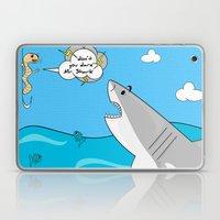 Mr. Shark Insurance Broker Ltd. Laptop & iPad Skin