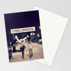 I Feel Infinite Stationery Cards