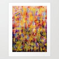 Rain And Sun Art Print