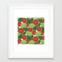 Guava Framed Art Print