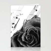 Music of Passion Stationery Cards
