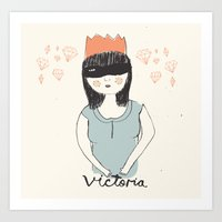 Victoria Art Print