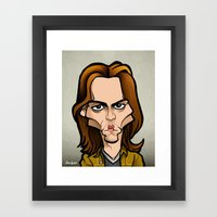 Gilbert Framed Art Print