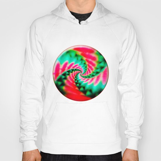 Cosmic Watermelon Swirl Hoody
