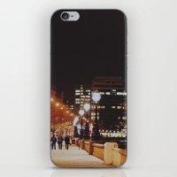 Night Stroll, London.  iPhone & iPod Skin