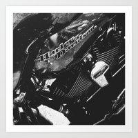 Harley II Art Print