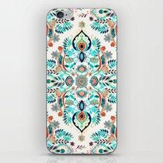 Modern Folk In Jewel Col… iPhone & iPod Skin