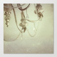 Vintage chandelier  Canvas Print