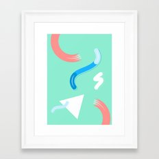 Keep Playing Framed Art Print