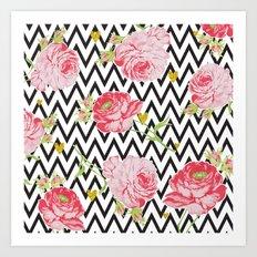 Bloom roses Art Print