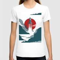 eye T-shirts featuring The Voyage by The Art of Danny Haas