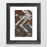 Rustic Wood Framed Art Print