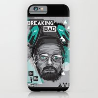 breaking bad iPhone & iPod Cases featuring Breaking Bad by Sophie Bland