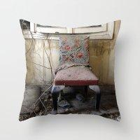 Whore Chair Throw Pillow