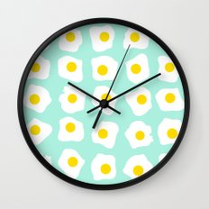 Eggs Eggs Eggs Wall Clock