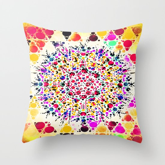 GOLGI APPARATUS Throw Pillow