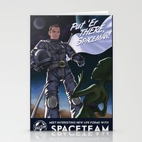 Spaceteam Stationery Cards