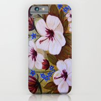 Painted Flowers iPhone 6 Slim Case