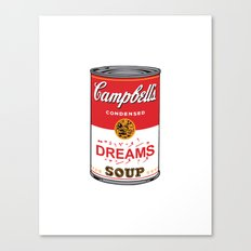A Can of Dreams Canvas Print