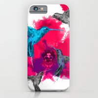 Pink hum orchid explosion  iPhone 6 Slim Case
