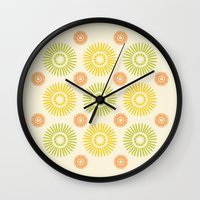 Sunburst: Summer Wall Clock