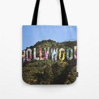 Hollyhood Tote Bag