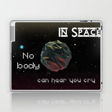 In Space Nobody Can Hear You Cry Laptop & iPad Skin