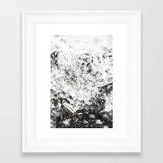 Aluminum Diamonds Framed Art Print