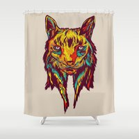 BE RARE* - Iberic Lince Shower Curtain