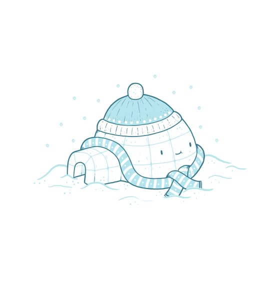 Igloo Art Print