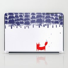 Alone in the forest iPad Case
