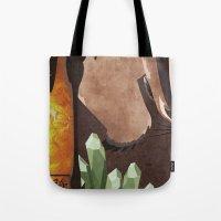 Original Bending Masters Series: Badgermoles Tote Bag