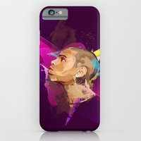 iPhone & iPod Case featuring Chris Brown by Liamduignan