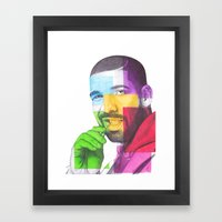 Drake Hotline  Framed Art Print