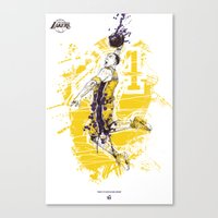 Kobe Bryant Tribute Canvas Print