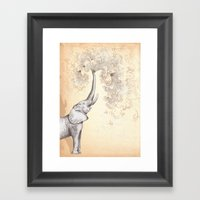 The Call Framed Art Print