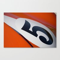 Racer Five Canvas Print