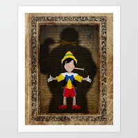 Shadow Collection, Series 2 - Puppet Art Print