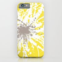 iPhone & iPod Case featuring Sunflower Sprinkle by Simi Design