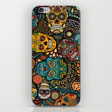 Calavaras - Day of the Dead Skulls iPhone & iPod Skin