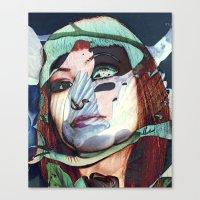 ELISA_GLITCH_IN THE SKY … Canvas Print