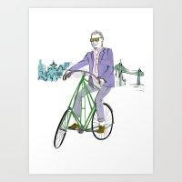 Mr.Fluevog Art Print