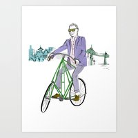 Mr.Fluevog Art Print