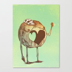 Round Love Canvas Print
