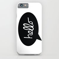 iPhone & iPod Case featuring Hello  by Sarah Jane Design