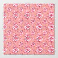 Artichoktica Rosa Canvas Print